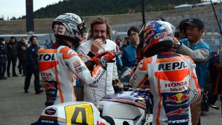 fernando-alonso-marc-marquez-thanks-day-honda