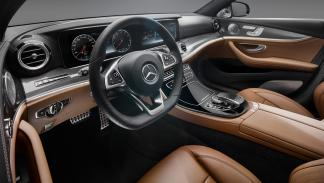 Mercedes Clase E 2016 interior marron