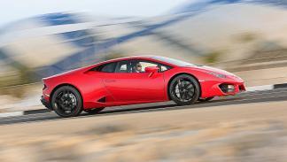 Prueba bestial: Lamborghini Huracán LP 580-2 barrido