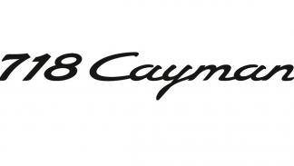 Porsche 718 Cayman logo
