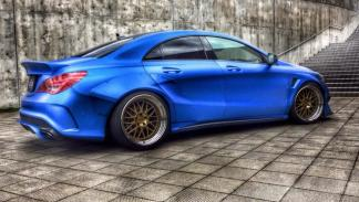 Mercedes CLA Fairy Design lateral