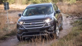 ford edge frontal