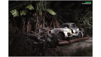 libro 'Carros de Cuba' alas de gaviota