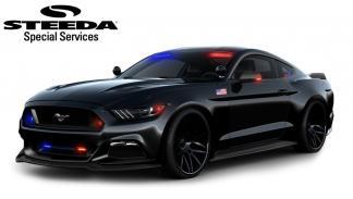 Ford Mustang policia steeda camuflado