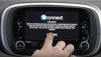 Inicio del sistema Uconnect