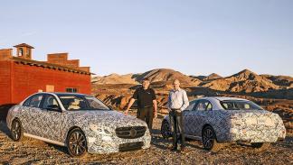 Mercedes Clase E 2016: nos subimos por primera vez