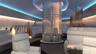 SkyDeck, primera clase premium avión 3