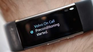 Habla con tu Volvo a través de la Microsoft Band 2