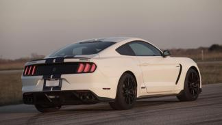 Ford Mustang gt350 Hennessey HPE575 trasera