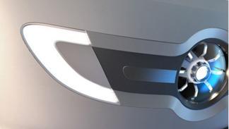 Cámara de visión delantera del primer dron tripulado