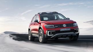 Volkswagen Tiguan GTE Active concept frontal