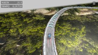 curva en la app de Volkswagen