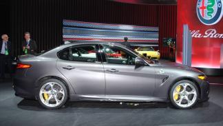 Alfa Romeo Giulia Salón de Detroit 2016