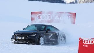 curso conducción en la nieve Audi 2016 4