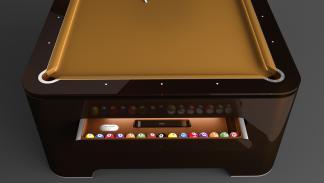 mesa billar Elysium bolas 2