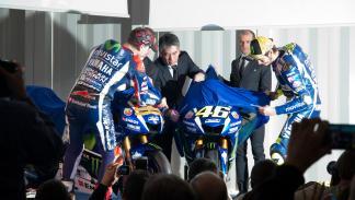 Yamaha MotoGP 2016 presentacion