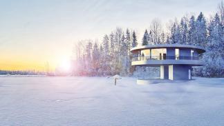 casa gira 360º ahorrar 70% energia