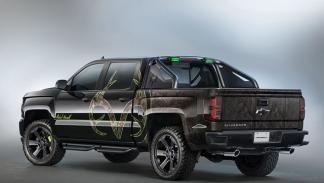 Chevrolet Silverado Realtree Edition tres cuartos traseros
