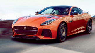 Jaguar F-Type SVR frontal
