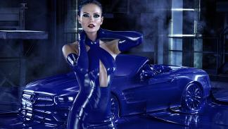 Natasha Poly Mercedes Benz 2