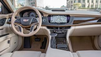 Cadillac CT6 indicadores interior