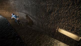 primer descenso subterráneo del mundo en bici3