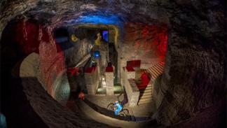 primer descenso subterráneo del mundo en bici4