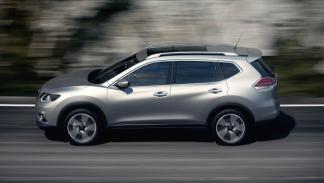 Nuevo Nissan X-Trail 2014 lateral dinámica
