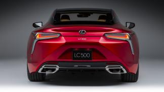 Lexus LC 500 trasera