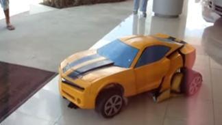 disfraz transformer coche