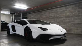 Lamborghini Aventador SV frontal