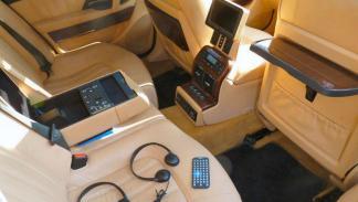 Maserati Quattroporte V Elton John asientos traseros