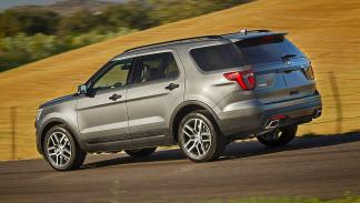 Prueba: Ford Explorer 2016 zaga