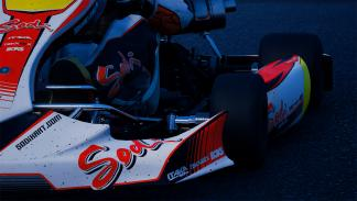detalles parte delantera kart