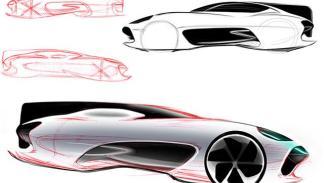 Boceto del futuro Jaguar 3
