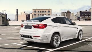 Hamann BMW X6 M50d tres cuartos traseros