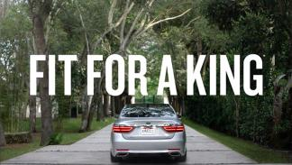 Lebron James Kia K900 4