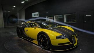 Bugatti Veyron Oakley Design tres cuartos delanteros