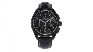 Alpina 'Full Black' Alpiner 4 Manufacture Flyback Chronograph 3