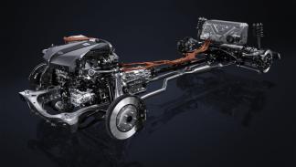 Lexus LC 500h chasis