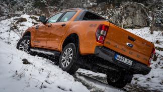 Ford Ranger Wildtrack trasera