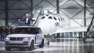 Land Rover Virgin SpaceShipTwo 2