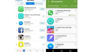 aplicaciones más descargadas Iphone Android 2