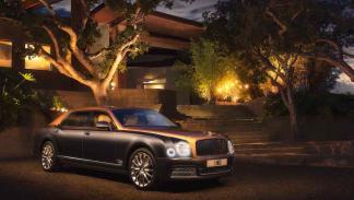 Nuevo Bentley Mulsanne tres cuartos delanteros
