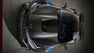 Chevrolet Corvette Grand Sport morro