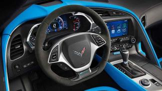 Chevrolet Corvette Grand Sport interior