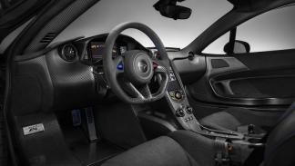 McLaren P1 de fibra de carbono interior
