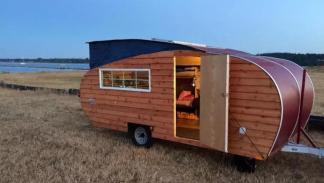 caravana paneles madera