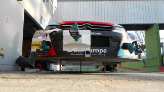 coche del WTCC 2016 sin las ruedas