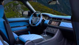 Range Rover Sport Mansory interior